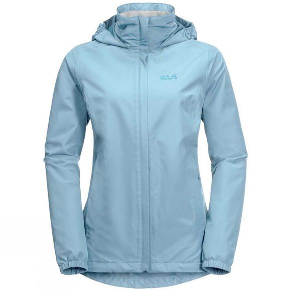 Jack Wolfskin Womens Stormy Point Jacket Stratosphere