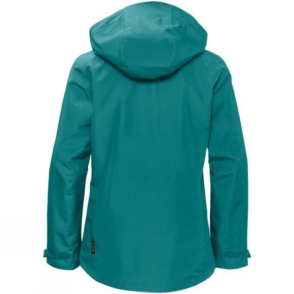 Jack Wolfskin Womens Longshaw Jacket Emerald Green