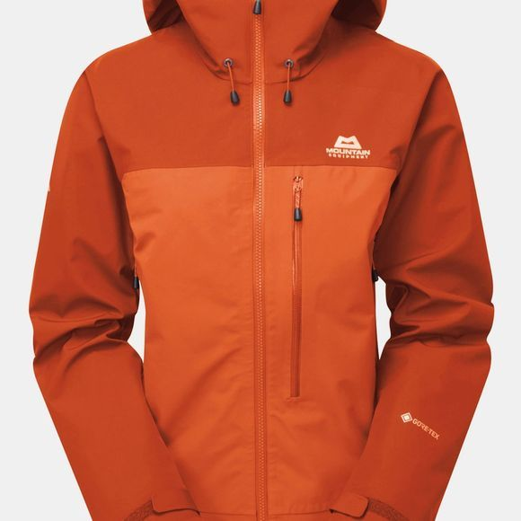 Mountain Equipment Womans Nanda Devi Jacket Magma/Bracken