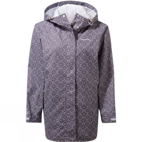 Craghoppers Womens Oriana Jacket Blue Navy Print