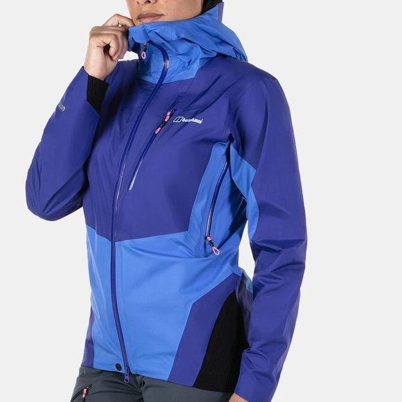 Berghaus Womens Changtse Shell Jacket Spectrum Blue  / Amparo Blue