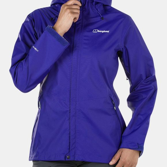 Berghaus Womens Deluge Vented Shell Jacket Spectrum Blue