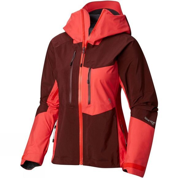 Mountain Hardwear Women's Exposure/2 GTX Pro Jacket Dark Umber