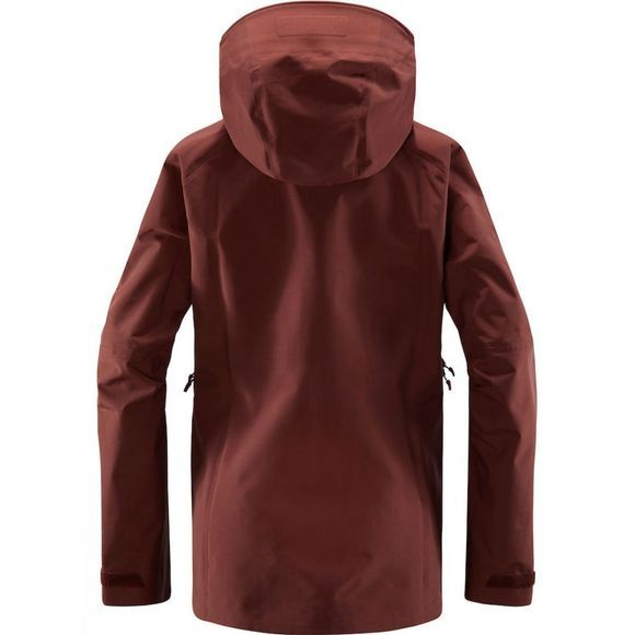 Haglofs Womens Grym Evo Jacket Maroon red