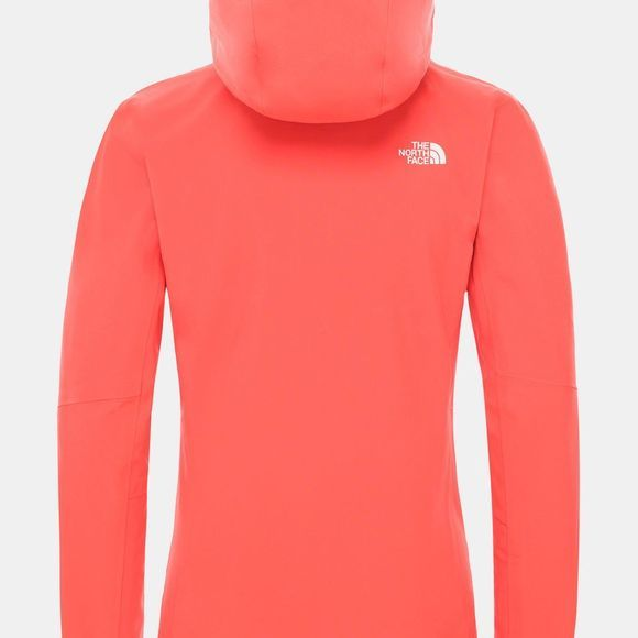 The North Face Womens Apex Flex DryVent Jacket Cayenne Red
