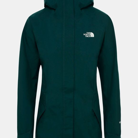 The North Face Womens All Terrain Zip-In Jacket Ponderosa Green