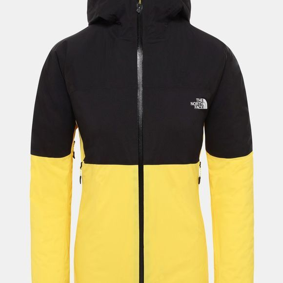 The North Face Womens Impendor Insulated Jacket Vibrant Yellow