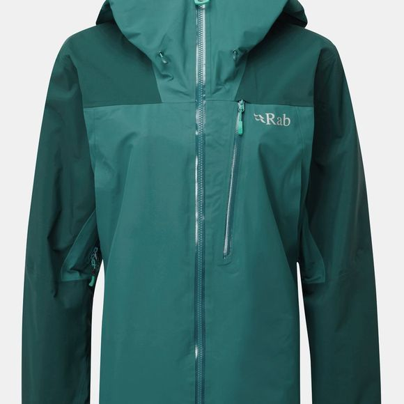 Rab Womens Ladakh GTX Jacket Sagano Green/Atlantis
