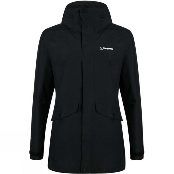 Berghaus Womens Katari II Shell Jacket Black/Black