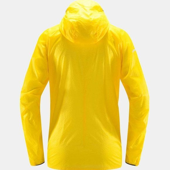 Haglofs Womens L.I.M Sheild Comp Hooded Jacket Signal yellow