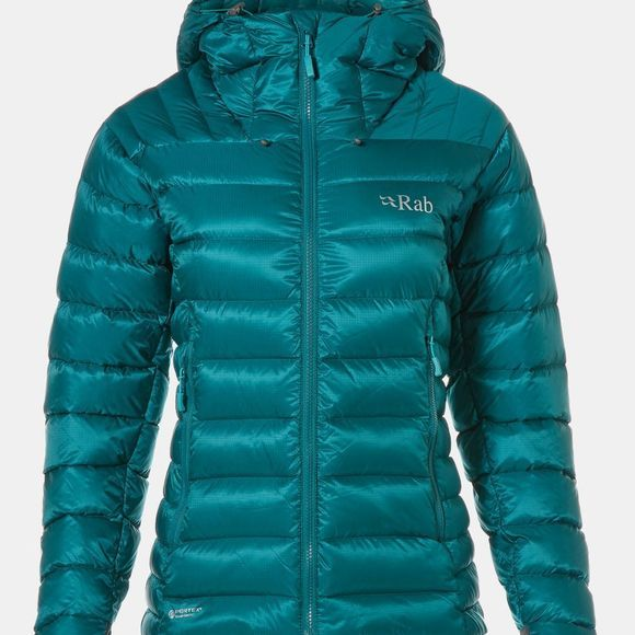 Rab Womens Electron Jacket Atlantis / Seaglass