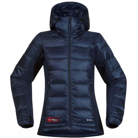 Bergans Womens Myre Down Jacket Navy