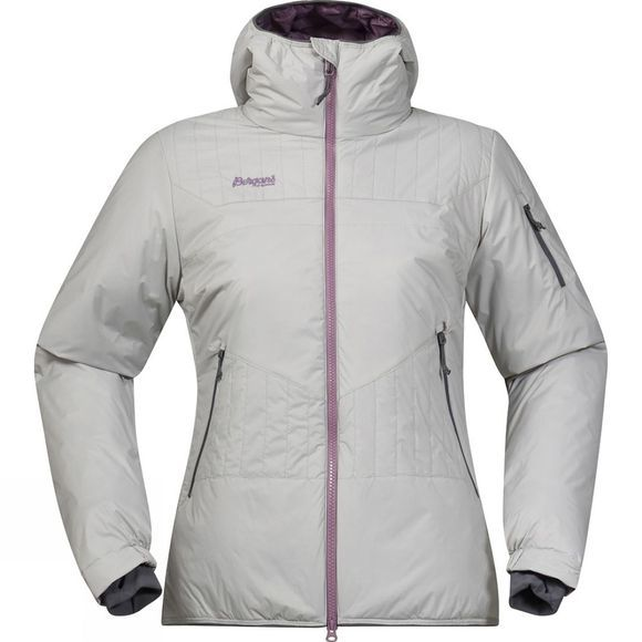 Bergans Womens Surten Insulated Jacket Aluminium / Dusty Plum