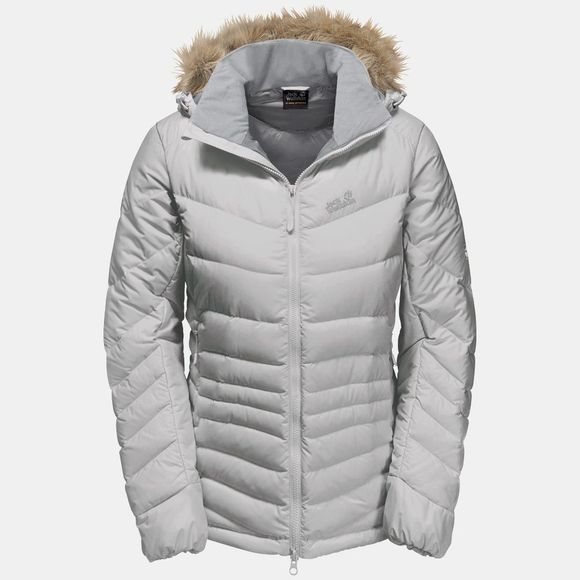 Jack Wolfskin Womens Selenium Bay Jacket Grey Haze