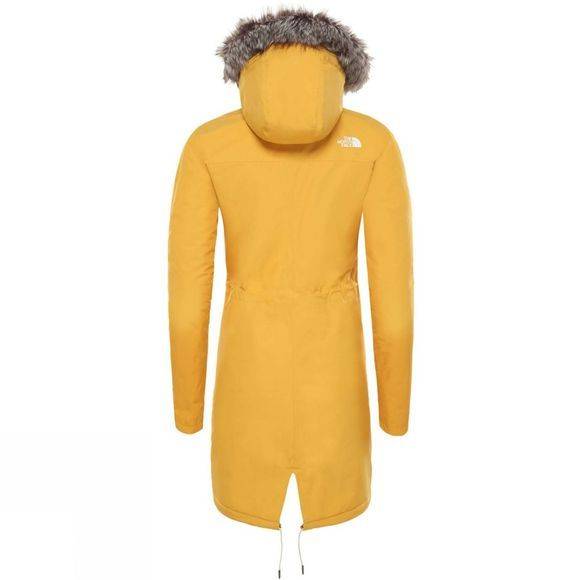 The North Face Womens Zaneck Parka Golden Spice