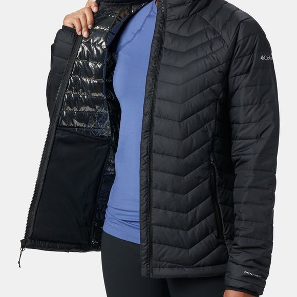 Columbia Womens Powder Lite Jacket Black