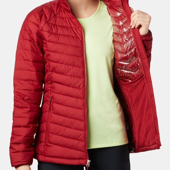 Columbia Womens Powder Lite Jacket Beet