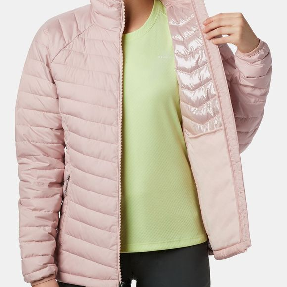 Columbia Womens Powder Lite Jacket Dusty Pink