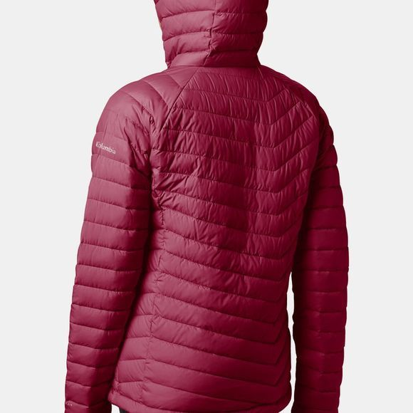 Columbia Womens Powder Lite Hooded Jacket Beet