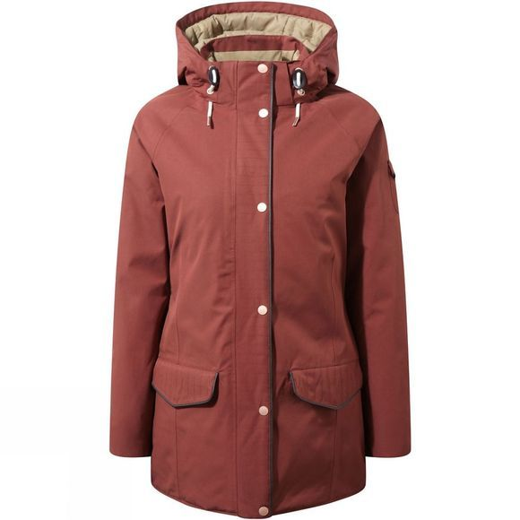 Craghoppers Womens 250 Jacket Dark Redwood