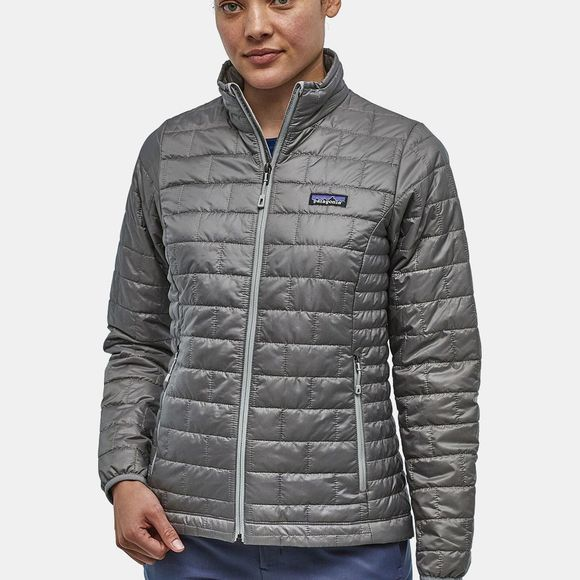 Patagonia Womens Nano Puff Jacket Feather Grey