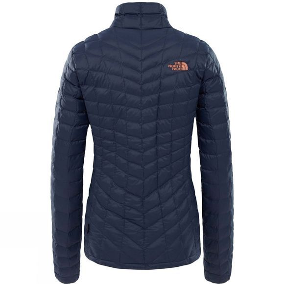 The North Face Womens ThermoBall Full Zip Jacket Urban Navy/Metallc Copper