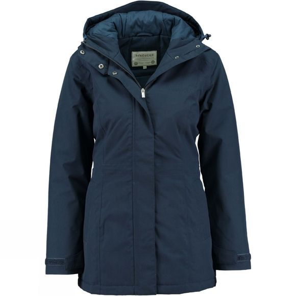 Ayacucho Womens Ontario Padded Jacket Dark Navy