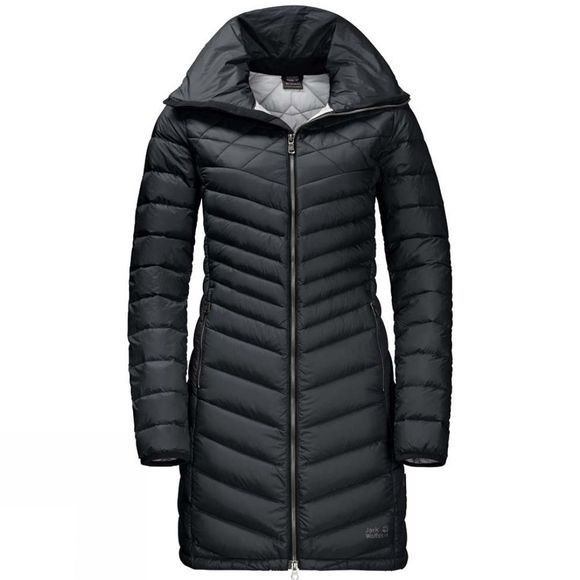 Jack Wolfskin Womens Richmond Coat Black