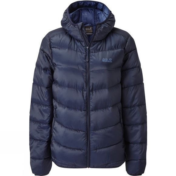 Jack Wolfskin Womens Sunnfjord Jacket Night Blue