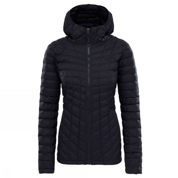 The North Face Womens Thermoball Hoodie TNF Black Matte