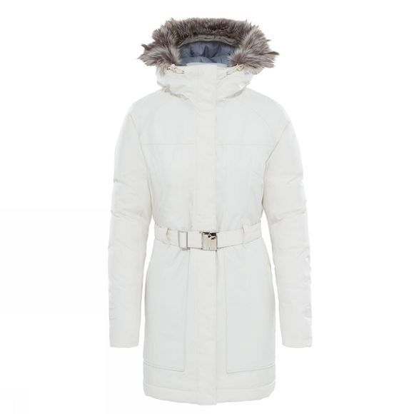 The North Face Womens Brooklin Parka 2 Vintage White