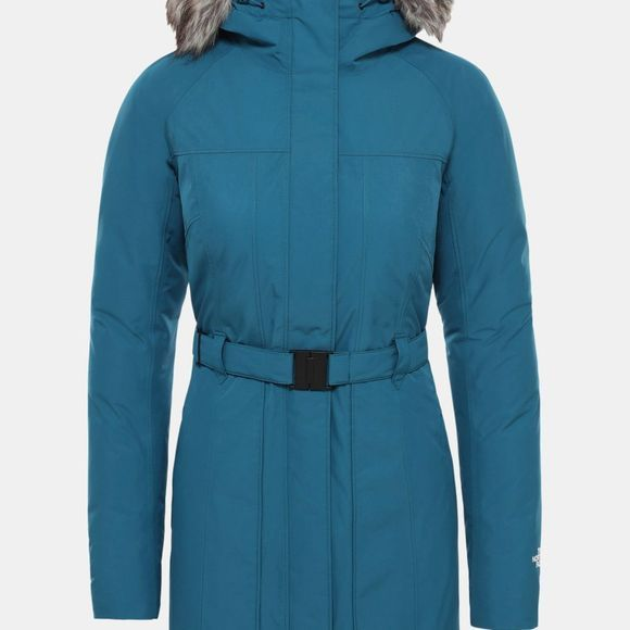 The North Face Womens Brooklin Parka 2 Blue Coral