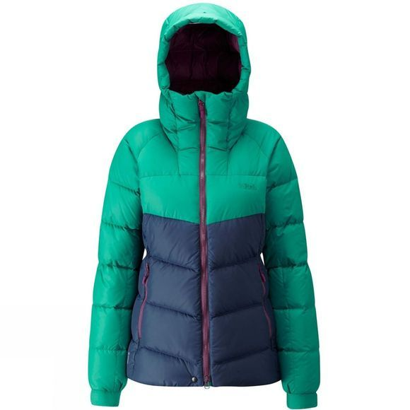 Rab Womens Asylum Jacket Fresh Green/ Deep Ink