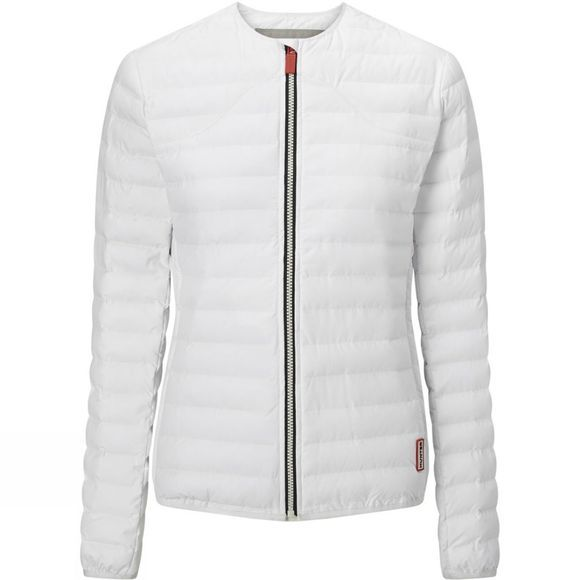Hunter Womens Original Midlayer Jacket White