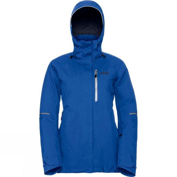 Jack Wolfskin Womens Exolight Icy Jacket Coastal Blue