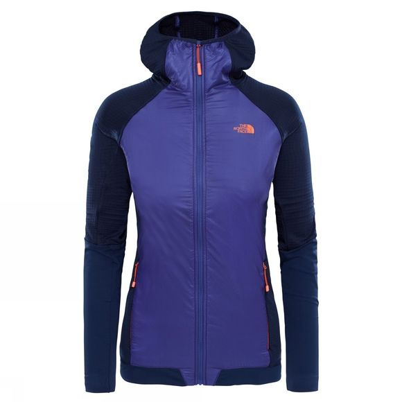 The North Face Womens Kokyu Full Zip Hoodie Maritime Blue