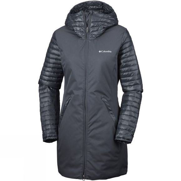 Columbia Womens Salcantay Mid Jacket  Black