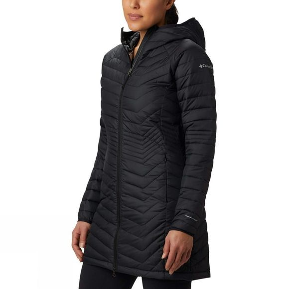 Columbia Womens Powder Lite Mid Jacket Black