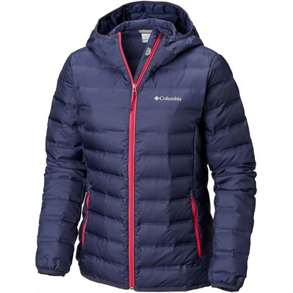 Columbia Womens Lake 22 Hooded Jacket Nocturnal