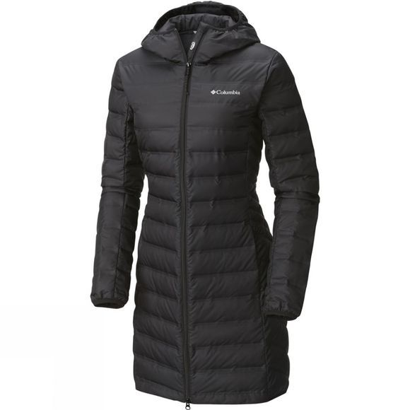 Womens Lake 22 Long Hooded Jacket