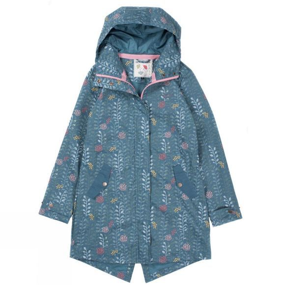 Womens Insulated Printed Parka