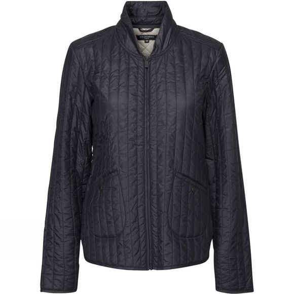 Ilse Jacobsen Womens Quilt03 Light Quilt Jacket Dark Indigo
