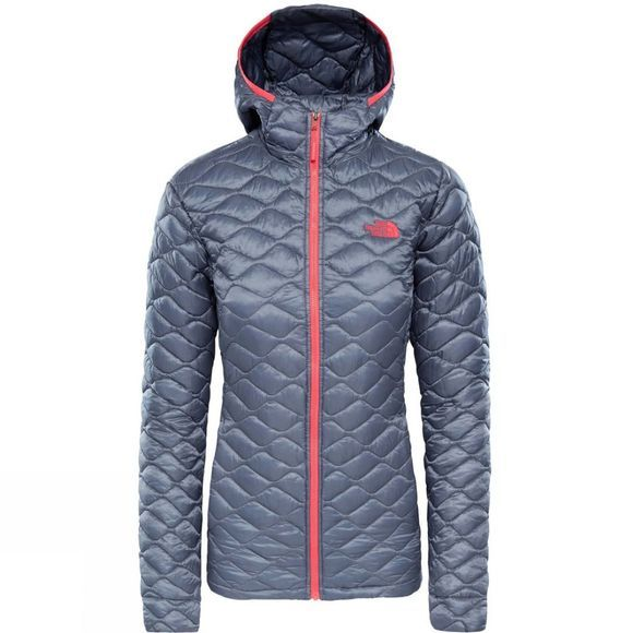 The North Face Womens Thermoball Hoodie Grisalle Grey
