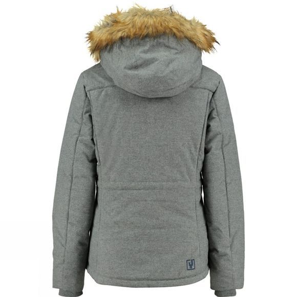Ayacucho Womens Zurich Jacket Light Grey Melange