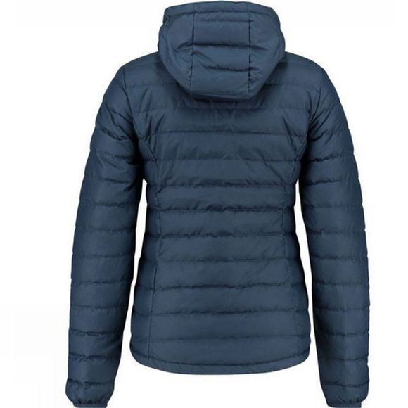Ayacucho Womens Himalaya Down Hooded Jacket Navy