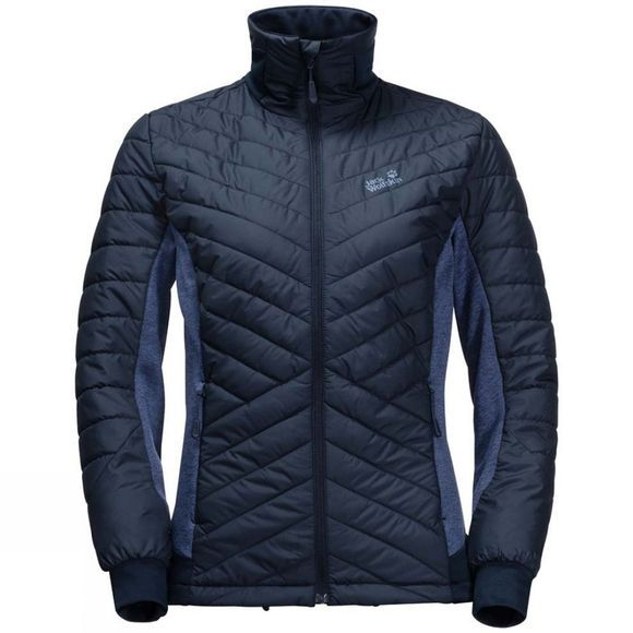 Jack Wolfskin Womens Lyse Valley Jacket Midnight Blue