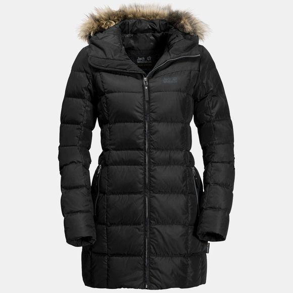Jack Wolfskin Womens BaffIn Island Jacket Black