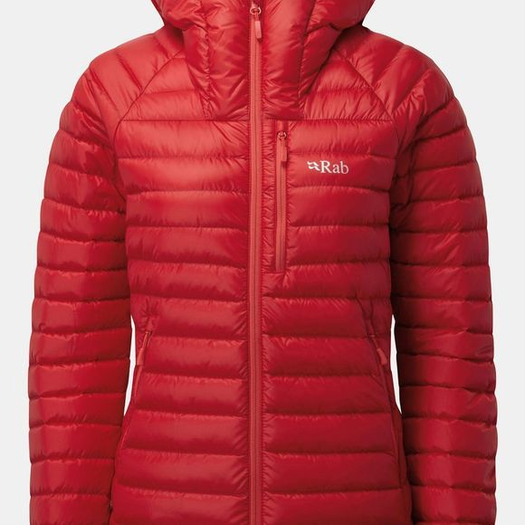 Rab Womens Microlight Alpine Jacket Ruby