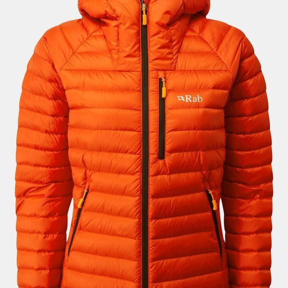 Rab Womens Microlight Alpine Jacket Firecracker