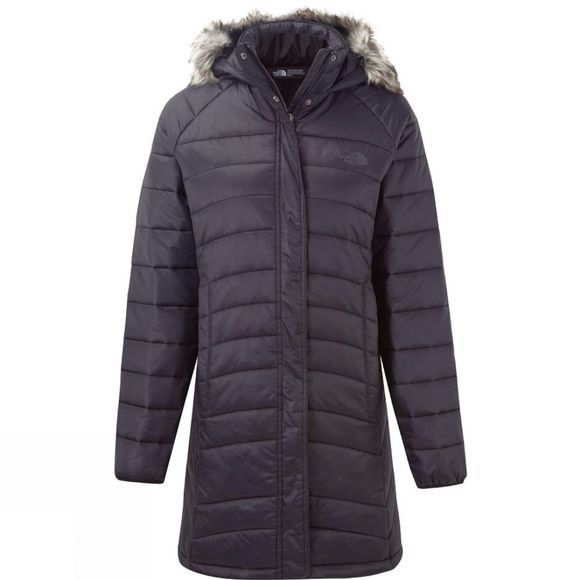 The North Face Womens Insulated Parka  Rabbit Grey
